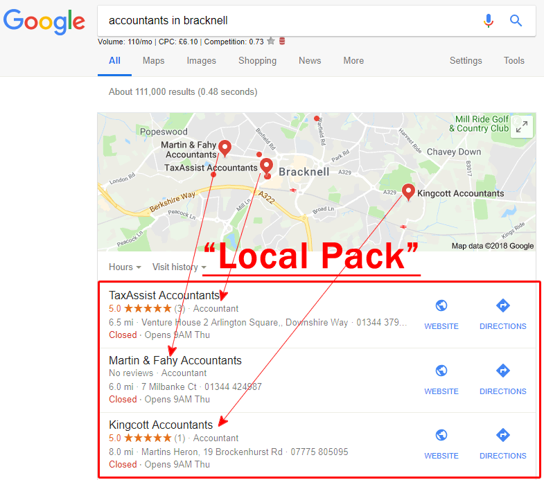 Local Pack